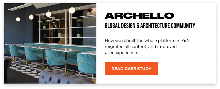 archello case study by justcoded