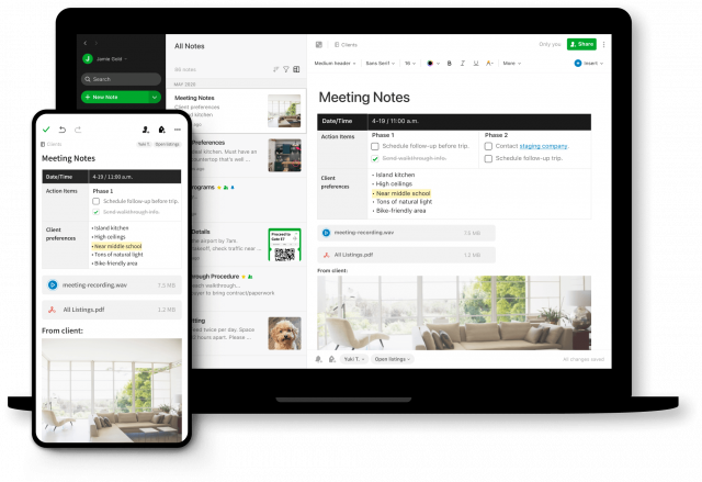 evernote scalable web application
