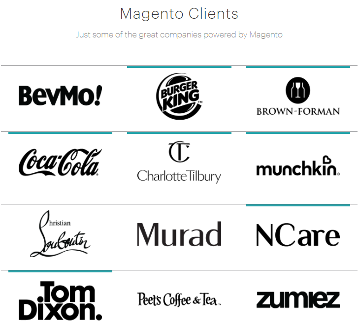 magento clients