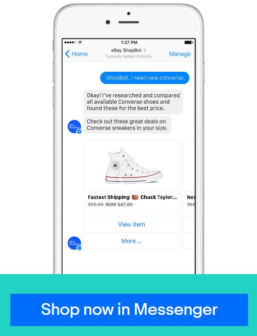 ebay ecommerce chatbot