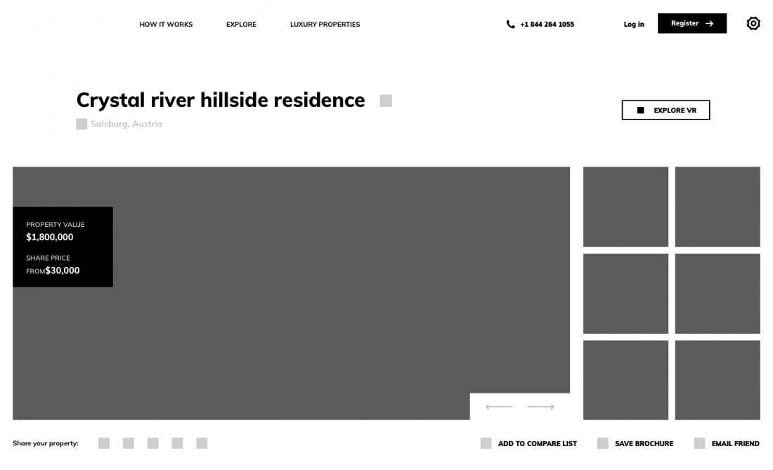 high-fidelity wireframe example