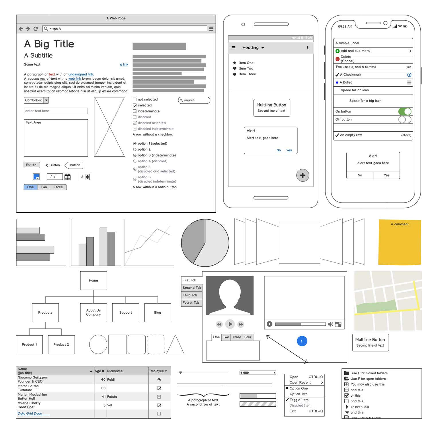 Balsamiq — wireframing tool