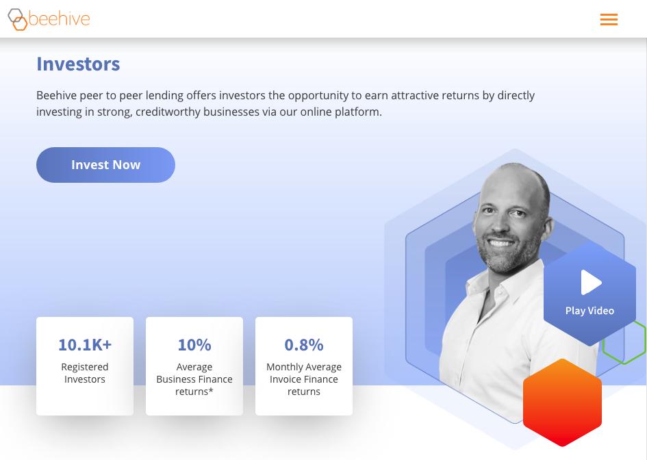 Beehive – crowdfunding platform from Dubai