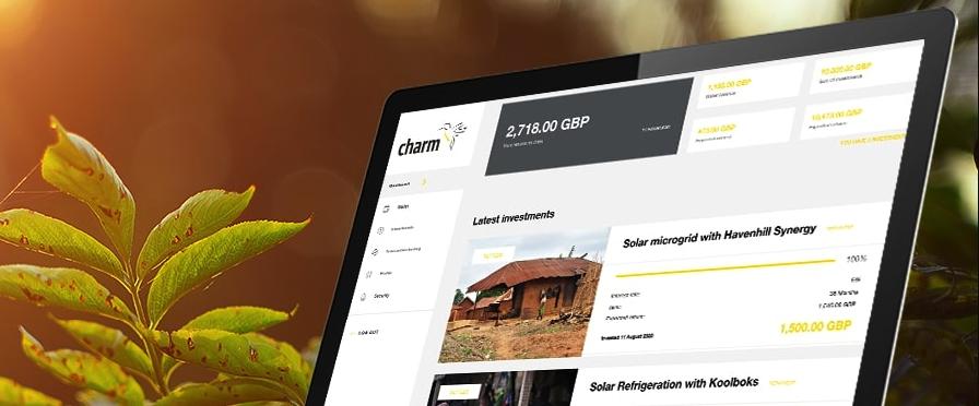 charm impact crowdfunding platform