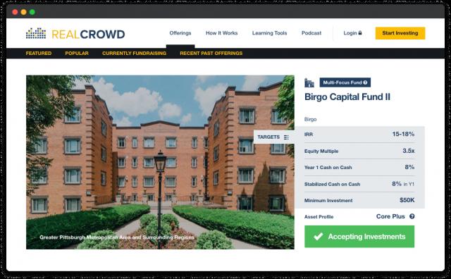 software for real estate crowdfunding platform