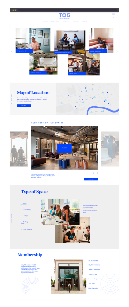 The Office Group – homepage