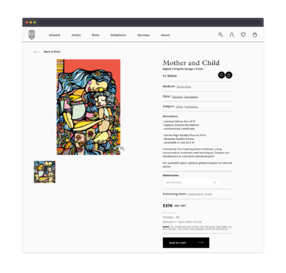 Creative Debuts product screenshot