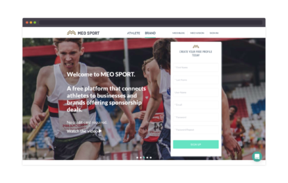 MEO Sport – homepage