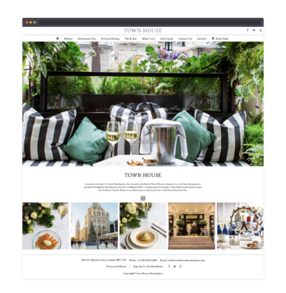 TownHouse – homepage