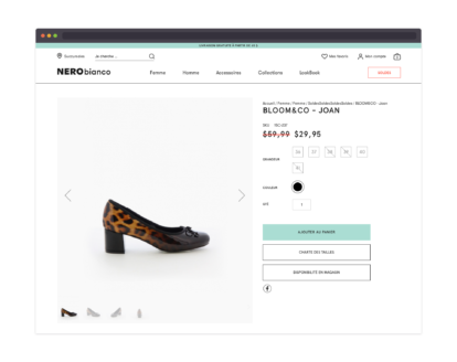 Nero Bianco – product page