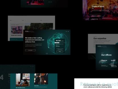 rebel & soul website screenshot