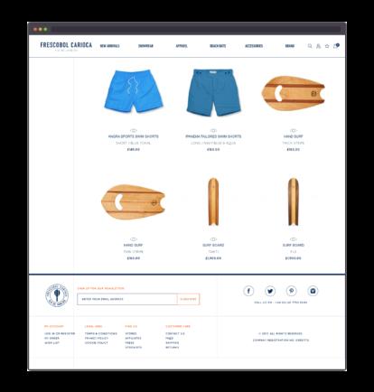 Frescobol Carioca product listing