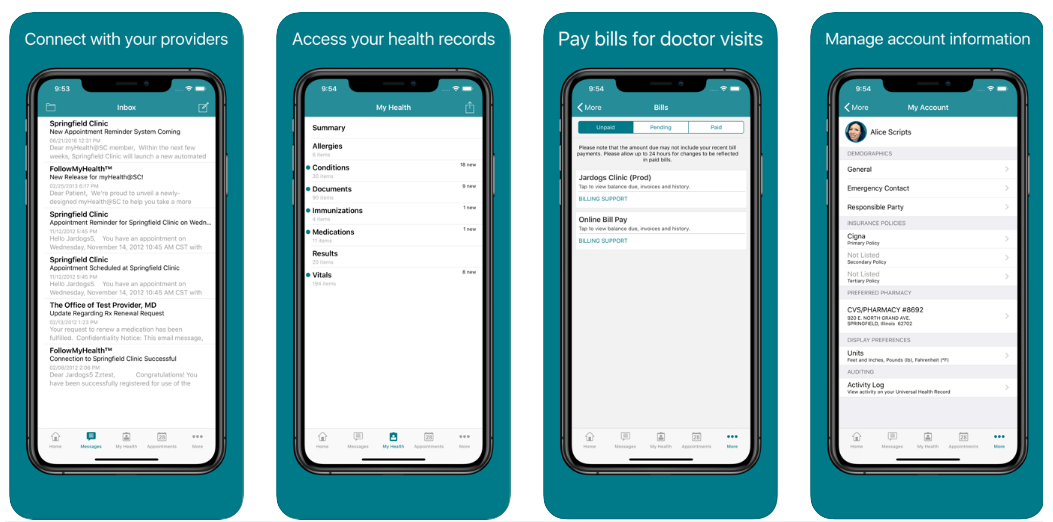 features of a doctor appointment booking app