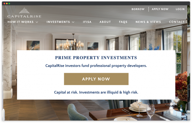 build real estate crowdfunding platform uk