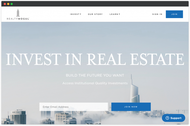 build real estate investment platform for non-accredited investors