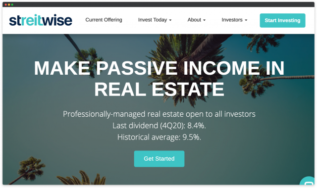 create a real estate investment platform