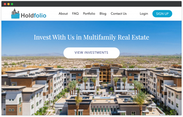 launch a real estate investment platform in the us
