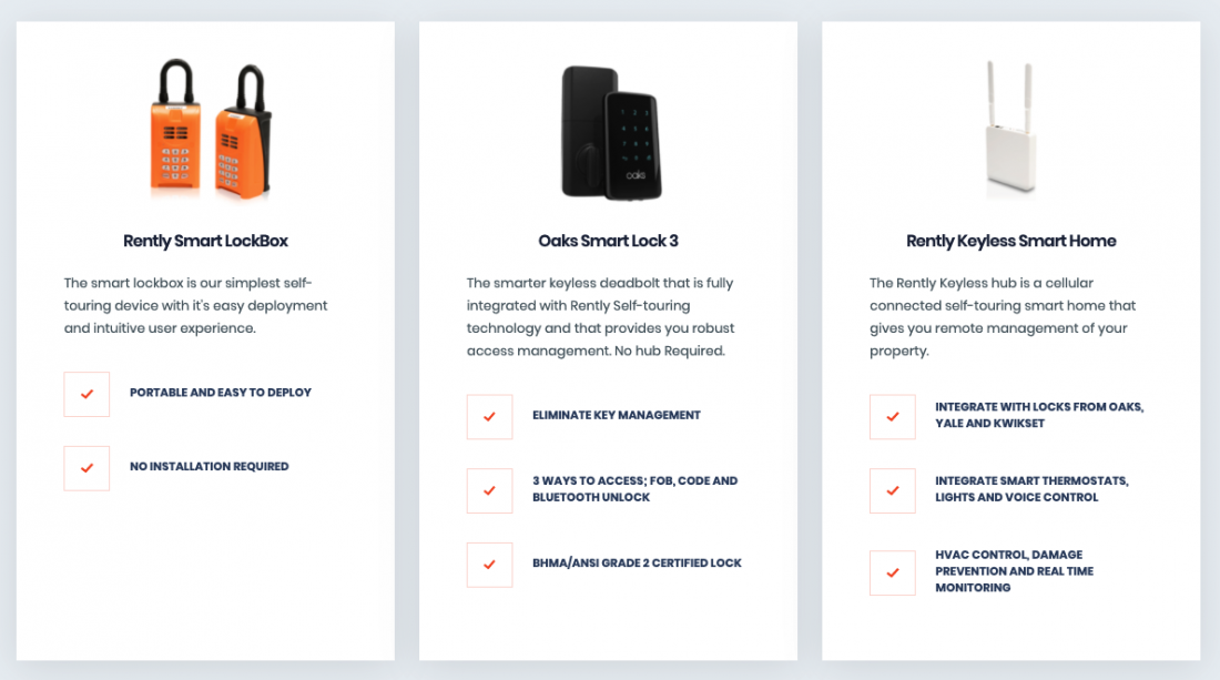 rental search app development basics
