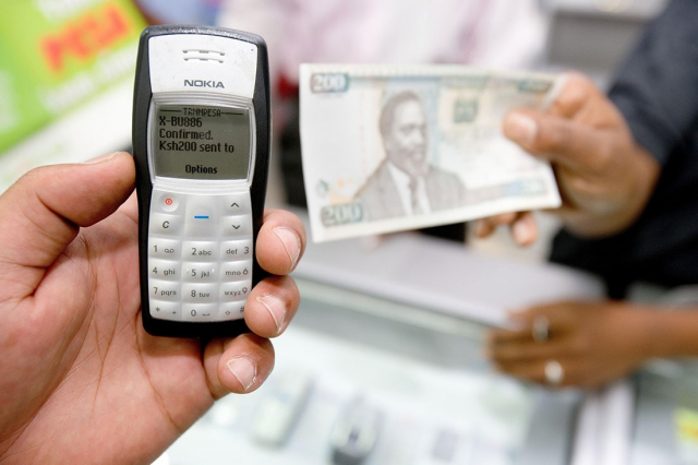 mpesa first transaction