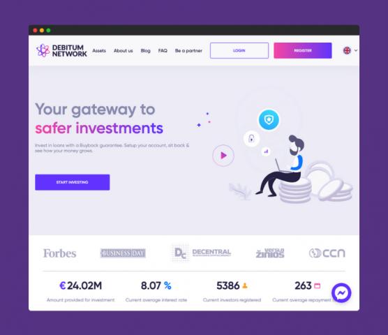 example of crowdfunding platform design