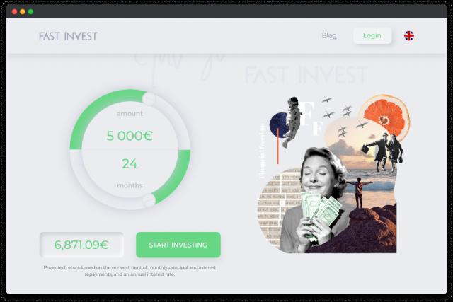 fast invest crowdfunding platform design