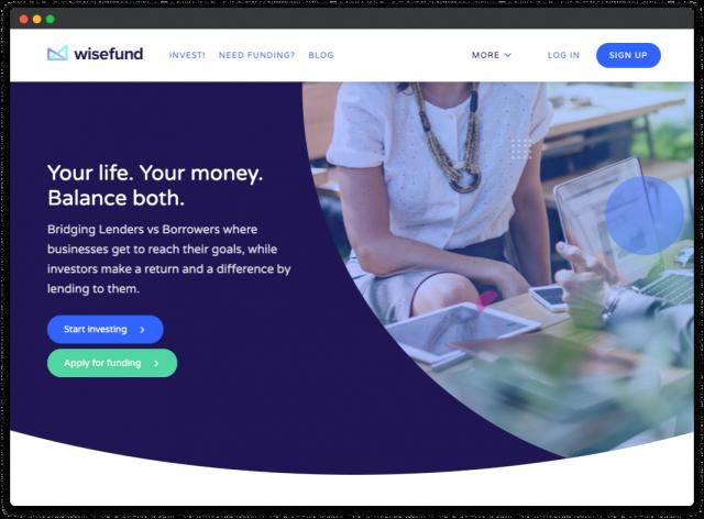 wisefund crowdfunding platform design