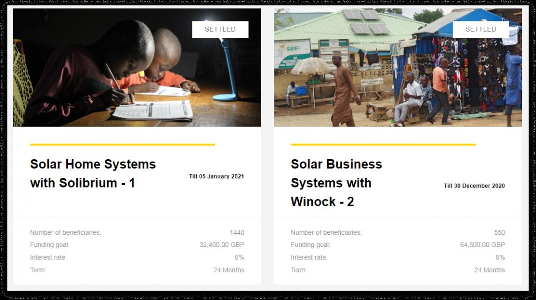 charm impact green energy crowdfunding platform