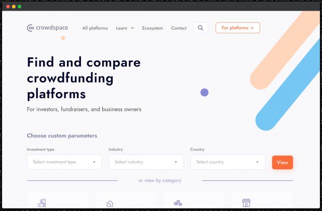 crowdfunding platforms in europe 1